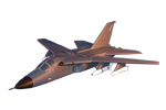 F-111 Aardvark Wooden Model