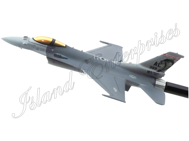 187th Fighter Wing F-16C Fighting Falcon Briefing Model