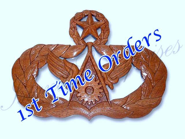 Island enterprises custom badge