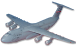 349th Airlift Wing C-5 Galaxy Model