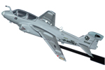 EA-6B Prowler Briefing Stick Model