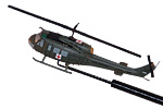 UH-1 Iroquois Briefing Model