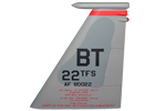 22 TFS F-15C Tail Flash