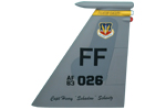 27 FS F-15C Tail Flash