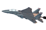 494 FS FS F-15E Strike Eagle Model
