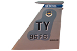 95 FS F-15C Tail Flash