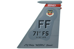 71 FS F-15C Tail Flash