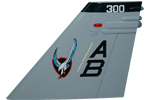 VFA-136 F/A-18C/D Tail Flash