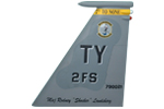 2 FS F-15C Tail Flash