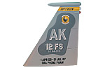 12 FS F-15C Tail Flash