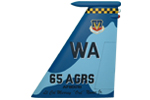 65 AGRS F-15C Tail Flash
