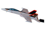 Strike Fighter Squadron 11 (VFA-11) F/A-18F Super Hornet Briefing Model