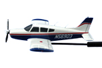 Piper Cherokee Arrow II Briefing Model (N56903)