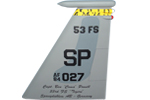 53 FS F-15C Tail Flash