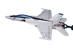 Strike Fighter Squadron 211 (VFA-211) F-18E/F Super Hornet Briefing Model