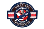 VMFA-122 WEREWOLVES Miniature Deployment Plaque