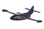 Blue Angels F9F Panther Model
