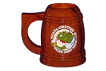 IGUANA CERTIFIED DRINK MORE BEER H3 MUG